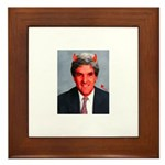 John Kerry Framed Tile