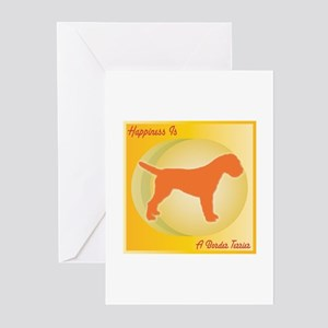 Terrier Happiness Greeting Cards (Pk of 10)