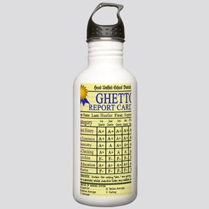 Ghetto Report Card --  Stainless Water Bottle 1.0L