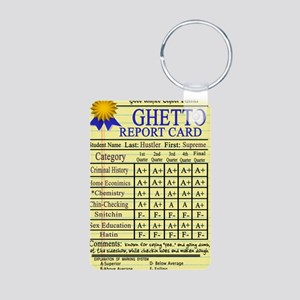 Ghetto Report Card -- T-Sh Aluminum Photo Keychain