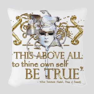 hamlet3 Woven Throw Pillow