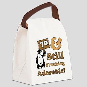 Adorable70 Canvas Lunch Bag