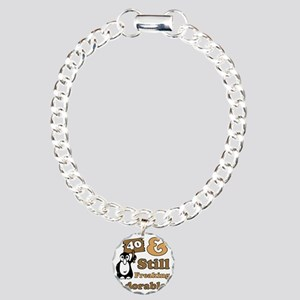 Adorable40 Charm Bracelet, One Charm