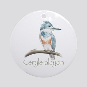 Kingfisher Ornament (Round)