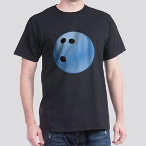 Blue bowling ball Dark T-Shirt