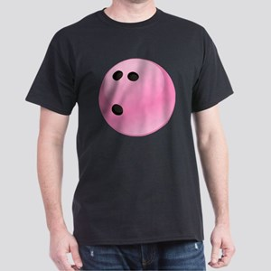 Pink Bowling Ball Dark T-Shirt