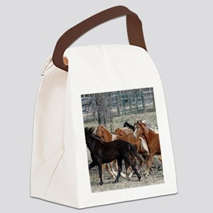 thunder_panel Canvas Lunch Bag