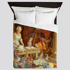 Mrs. Claus SQ Queen Duvet