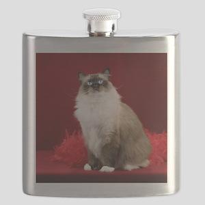 Maddie Round Ornament Flask