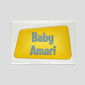 Baby Amari Rectangle Magnet