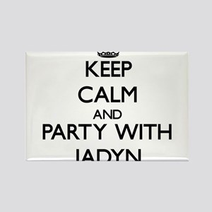 Keep Calm and Party with Jadyn Magnets