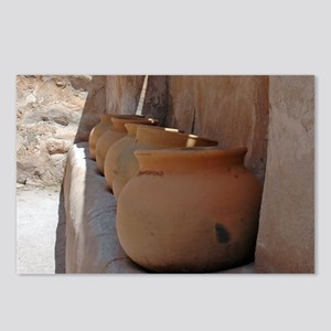 clay_pots_mpad Postcards (Package of 8)