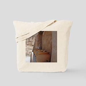 clay_pots_panel Tote Bag