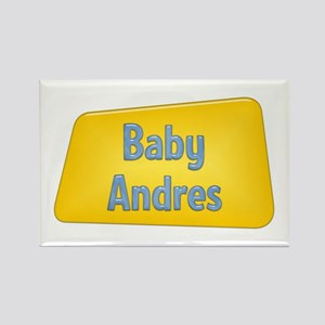 Baby Andres Rectangle Magnet