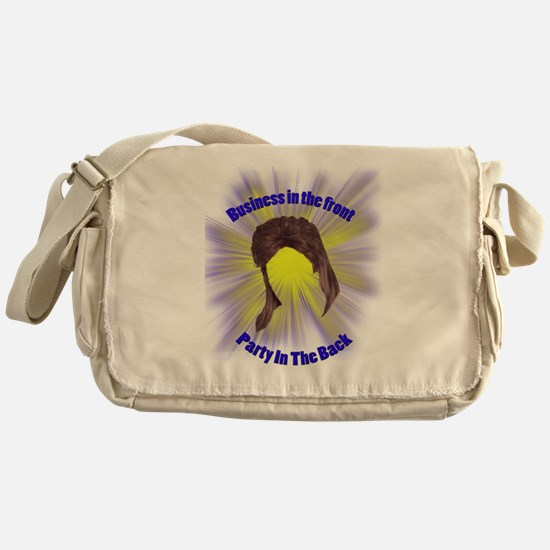 epic mullet Messenger Bag