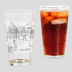 Lab Rats bw copy Drinking Glass