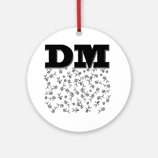 dm Round Ornament