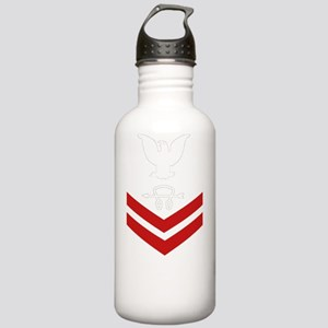 Navy-Rank-ST2-Blues-PN Stainless Water Bottle 1.0L