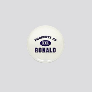 Property of ronald Mini Button