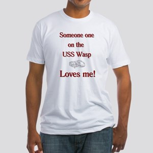 uss wasp wives #8 Fitted T-Shirt