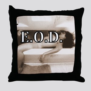 DEATHREDOEDIT-1 Throw Pillow