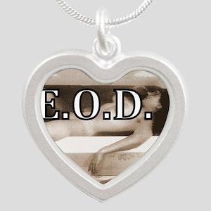 DEATHREDOEDIT-1 Silver Heart Necklace