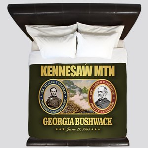 Kennesaw Mountain King Duvet