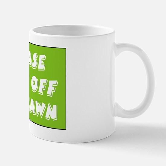 keep off lawn Mug