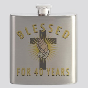 Blessed40 Flask