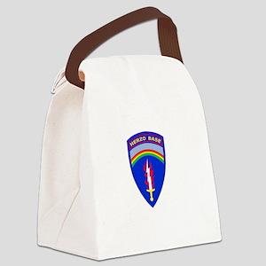 Herzo_Tshirt_BW Canvas Lunch Bag