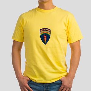 Herzo_Tshirt_BW Yellow T-Shirt