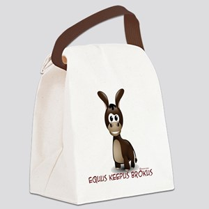 t4 Canvas Lunch Bag