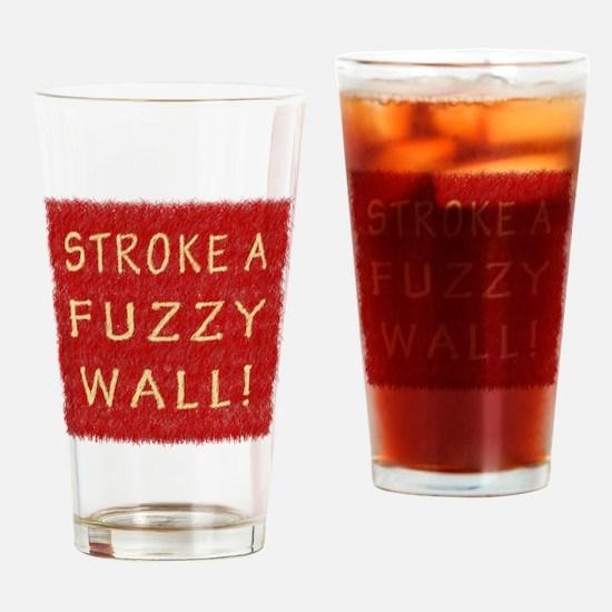 Fuzzy Wall RY Drinking Glass