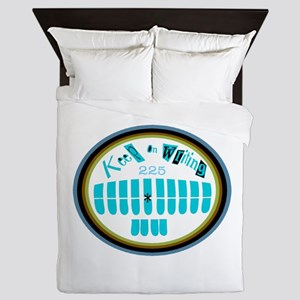 "Personalize ""225"" Queen Duvet"