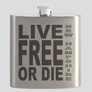 LiveFreeorDieBlack Flask