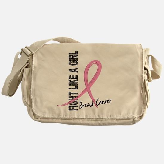 - Breast Cancer Fight Like a Girl Messenger Bag