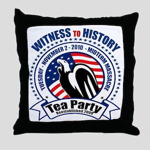 witness_cp_lt Throw Pillow