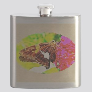 Silver-spotted Skipper Butterfly, Calendar P Flask