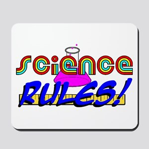 science rules Mousepad