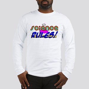 science rules Long Sleeve T-Shirt