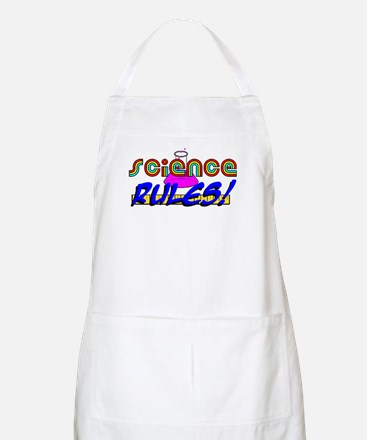 science rules BBQ Apron