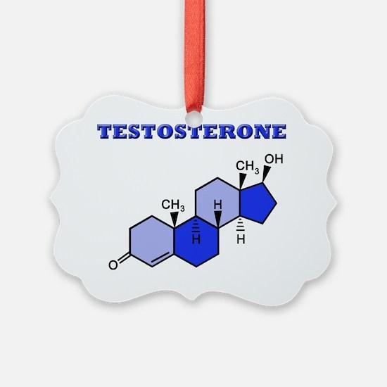 Testosterone2 copy Ornament