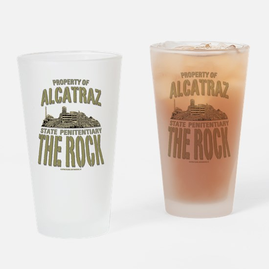 PROPERTY OF THE ROCK Drinking Glass