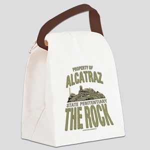 PROPERTY OF THE ROCK Canvas Lunch Bag