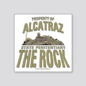 "PROPERTY OF THE ROCK Square Sticker 3"" x 3"""