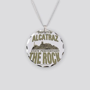 PROPERTY OF THE ROCK Necklace Circle Charm