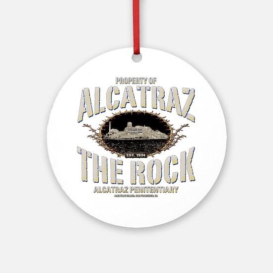PROP_OF_ALCATRAZ Round Ornament