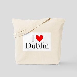"""I Love Dublin"" Tote Bag"