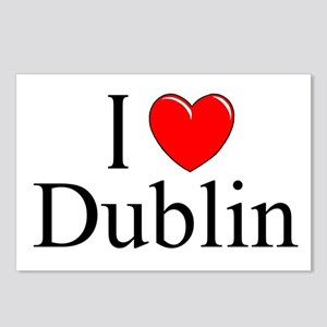 """I Love Dublin"" Postcards (Package of 8)"