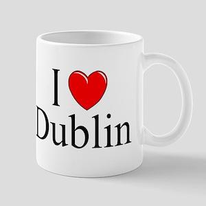 """""""I Love Dublin"""" Mug"""